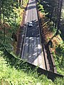 Tooth Rock Tunnel west portal from above - HCRH Oregon.jpg