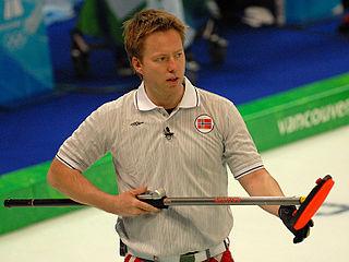 Torger Nergård Norwegian curler