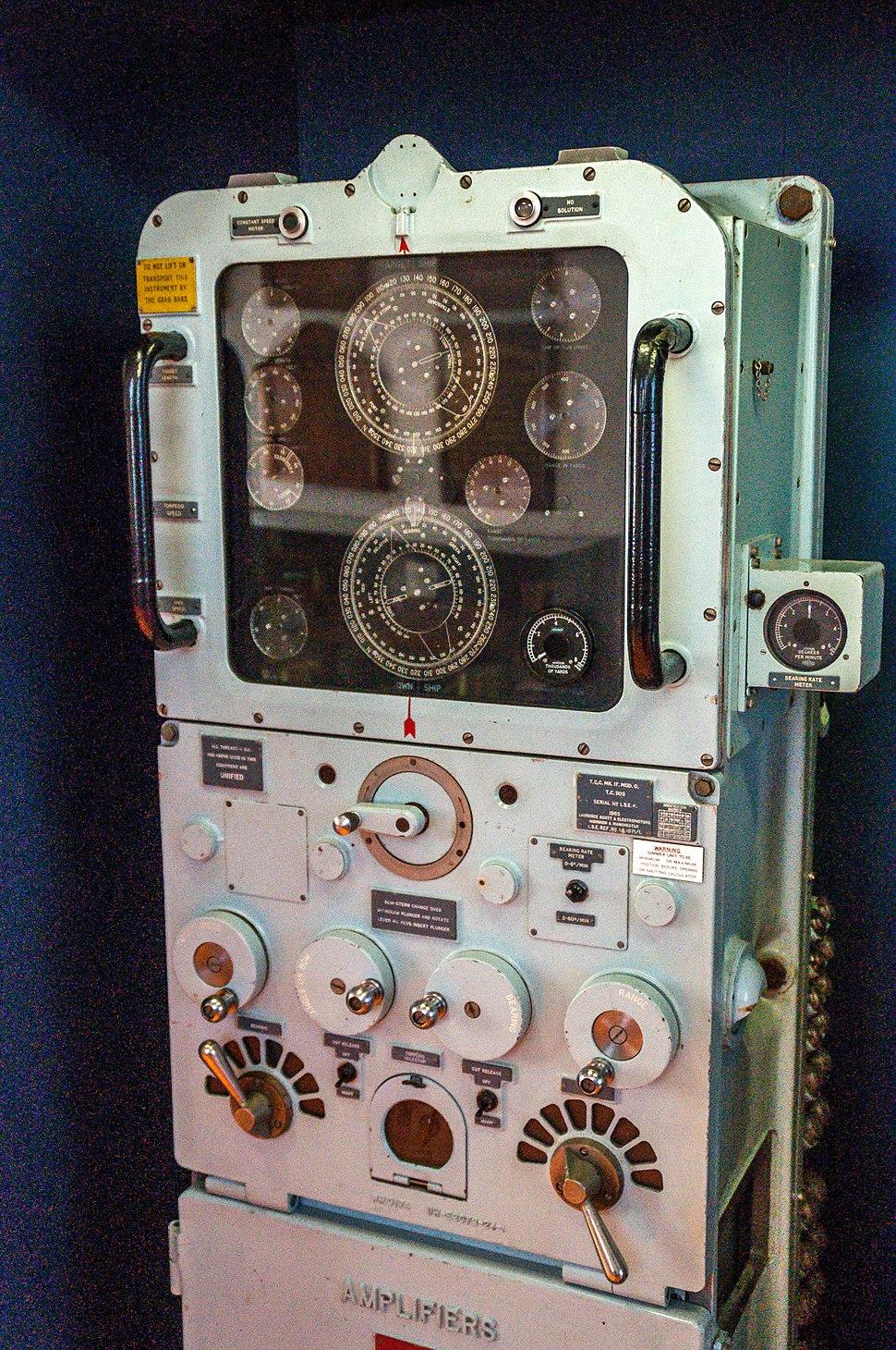 Torpedo Control Console Mk 17 Mod 6 - RAN Oberon Class Submarine
