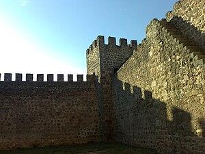 Nisa, Portugal - Image: Torreão do castelo de Belver