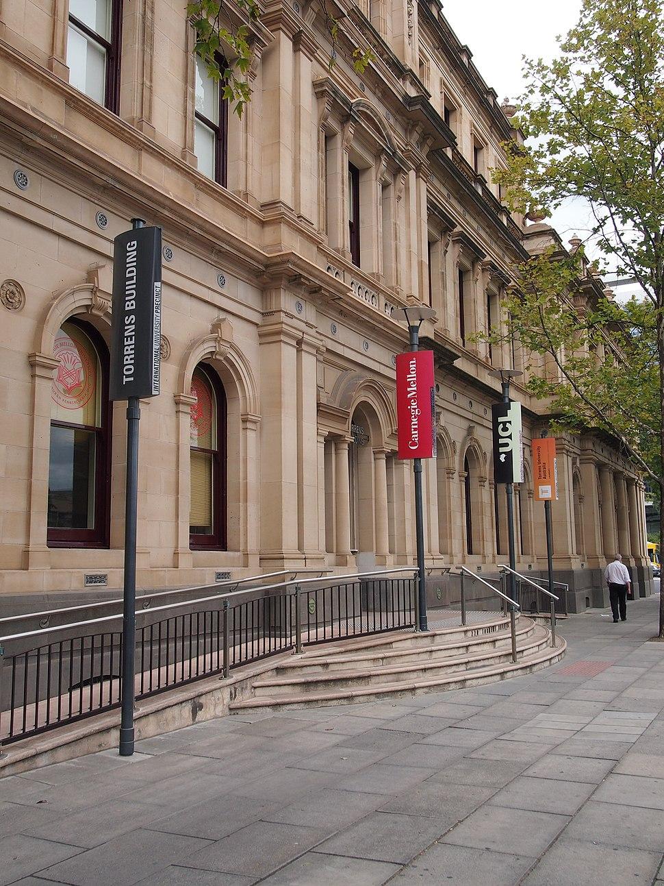 Torrens Building, Victoria Square
