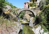Il torrente Segno in località Ponte dell'Isola