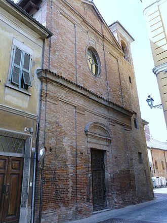 Tortona - Ancient church in the town center