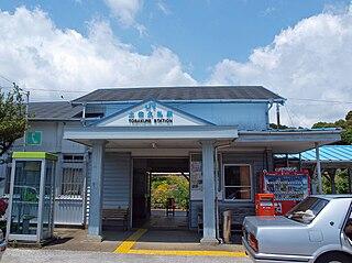 Tosa-Kure Station Railway station in Nakatosa, Kōchi Prefecture, Japan