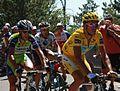 Tour de France 2009, nibali riblon kreuziger (22014518798).jpg