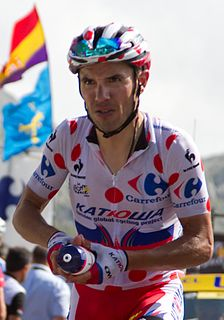 Joaquim Rodríguez Spanish road bicycle racer
