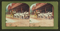 Tourists off for the Patk, Leaving the Mammoth Hot Springs Hotel, Y.N.P, from Robert N. Dennis collection of stereoscopic views.png
