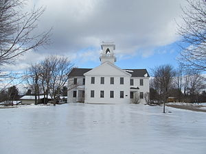 New London, New Hampshire - Image: Town Offices, New London NH