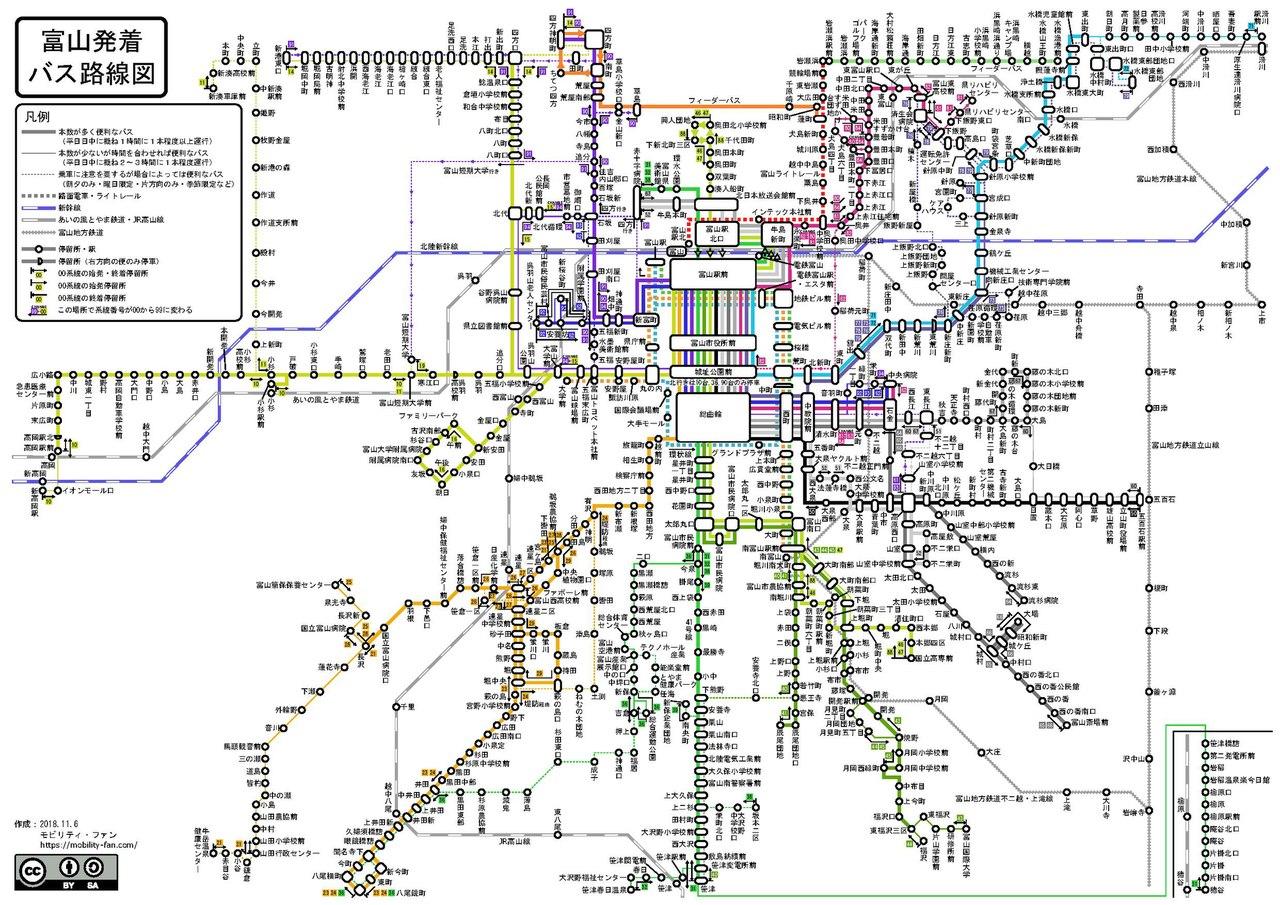 File Toyama Bus Route Map Pdf Wikimedia Commons