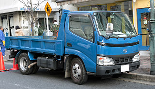 Toyota ToyoAce Light to medium cab over truck