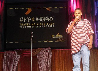 Tracy Morgan - Morgan on stage during Opie and Anthony's Traveling Virus Comedy Tour in 2006