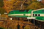 Trainspotting GO train -436 headed by MPI MP-40PH-3C -626 (8123588441).jpg