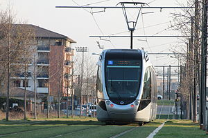 Toulouse tramway - Image: Tramway de Toulouse