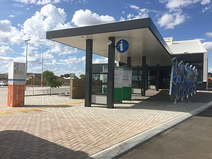 Transperth Aubin Grove Station outer entrance bus station end.jpg