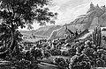 Trarbach, Traben und die Gräfinburg by Karl Bodmer.jpg