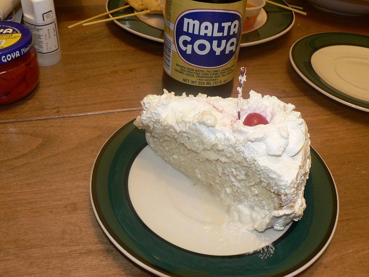 Tres Leche Cake White Cake Mik