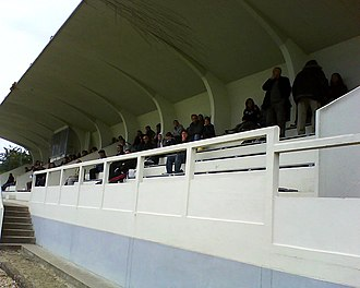 Paris FC (women) - Image: Tribune stade maquin
