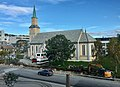 Tromsø Norway - Kirkegata Domkirken kirkeparken arbeider 2017-09-14.jpg
