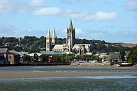 Truro Cathedral taken from Boscawen Park - geograph.org.uk - 344071.jpg