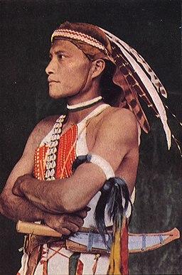 Tsou youth of Taiwan (pre-1945)