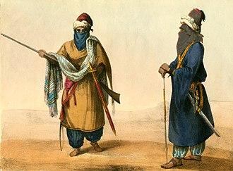 George Francis Lyon - Tuareg people, by Lyon