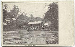 Tumatumari Landing Village in Potaro-Siparuni, Guyana