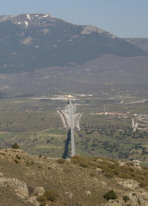 Madrid–León high-speed rail line - The entrance to the San Pedro tunnels