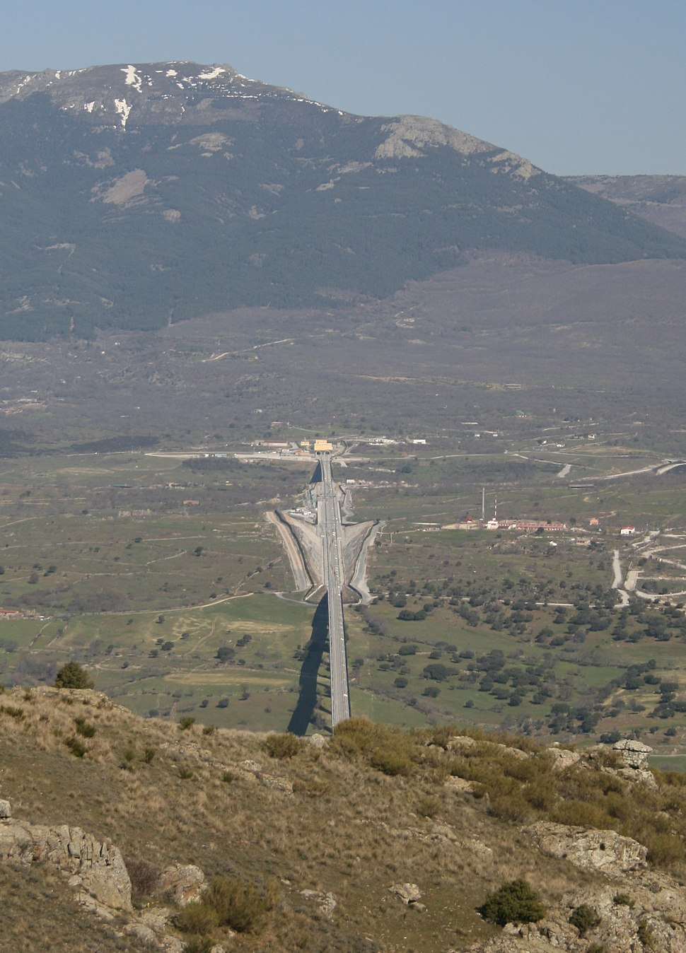 Tunel de san pedro ColmenarViejo Spain