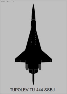 Tupolev Tu-444 top-view silhouette.png