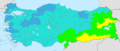 Turkey total fertility rate by province 2019.png