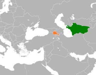 Armenia–Turkmenistan relations Diplomatic relations between Armenia and Turkmenistan
