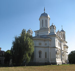 Turnu Măgurele - Romanian Orthodox cathedral of Saint Haralambios