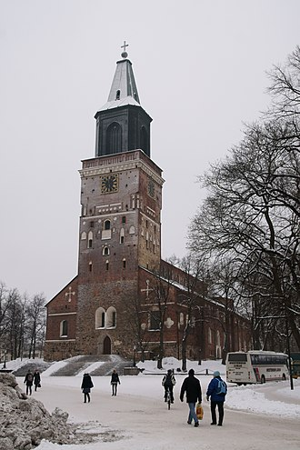 Art in Finland - Turku Cathedral.