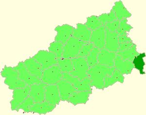 Kalyazinsky District - Image: Tver oblast Kalazin