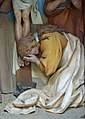 Twelfth station of the Cross Laghel detail Saint Magdalena.jpg