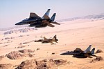 Two F-15C of 33rd Tactical Fighter Wing, and a Royal Saudi Air Force F-5E Tiger.jpg