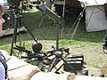 Two Granatnik wzór 36 grenade launchers, Browning wzór1928 light machine gun and Ciężki karabin maszynowy wzór 30 heavy machine gun during the VII Aircraft Picnic in Kraków.jpg