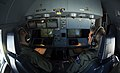 Two RAAF airmen at a KC-30s refueling controls.jpg