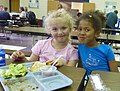 Two kgn girls at lunch - Flickr - USDAgov.jpg