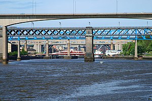 The Nice - The title suite of the Five Bridges album was inspired by five bridges that span the River Tyne between Newcastle upon Tyne and Gateshead.