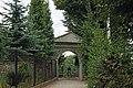 Tyniec parish cemetery (gate), Benedyktyńska street, Tyniec, Krakow, Poland.jpg