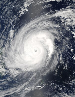 2004 Pacific typhoon season - Image: Typhoon Sudal 11 apr 2004 0425Z