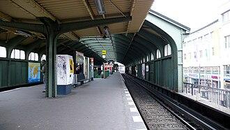 Berlin Schönhauser Allee station - Image: U Bahnhof Schoenhauserallee