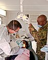 U.S. Air Force Works with BDF to provide dental services in Botswana (7779718252).jpg