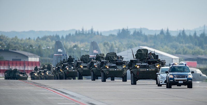 File:U.S. Army Stryker armored vehicles convoy during operations in support of Steadfast Javelin II at Ramstein Air Base, Germany, Sept 140903-F-YC884-208.jpg