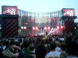 A U2 concert in 2005.