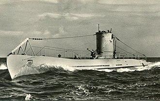 German submarine U-35 (1936) - Image: U35 Kriegsmarine