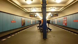 Hallesches Tor (Berlin U-Bahn) - Image: U Bahnhof Halleschestor