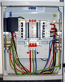 distribution board wikipedia rh en wikipedia org ABB Distribution Boards Electrical Distribution Board