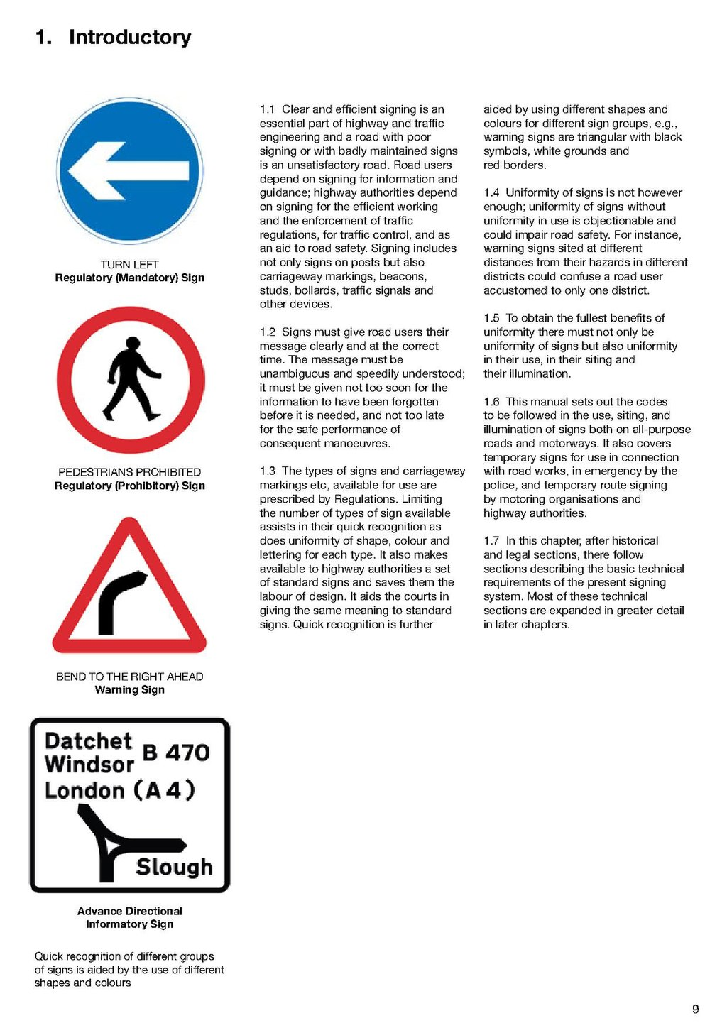 Page:uk traffic signs manual chapter 1 (1982 amended to 2004). Pdf.